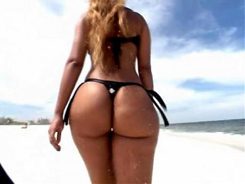 Perfect Booty LUANA on the Beach [Best Body, Posing, Private, Sex] / Самая красивая задница! [2008 г., All Sex, SiteRip] (2008) SATRip