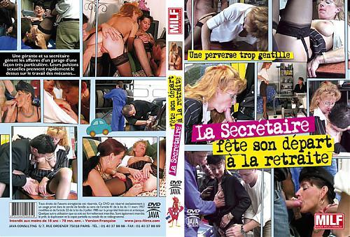 La Secretaire Fete Son Depart A La Retraite Секретарша Празднует Своё Отправление На Пенсию