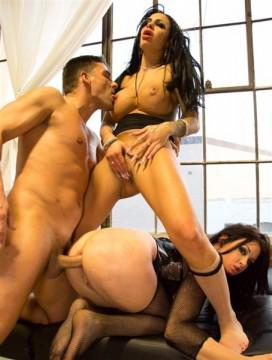 Tory Lane, Angelina Valentine - Squirting Machines